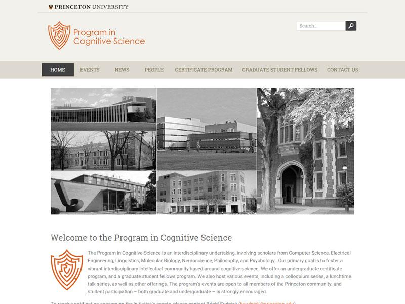 Princeton University Program In Cognitive Science Amy Hepler