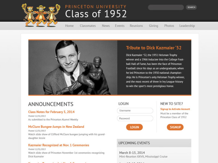 Princeton University Class of 1952