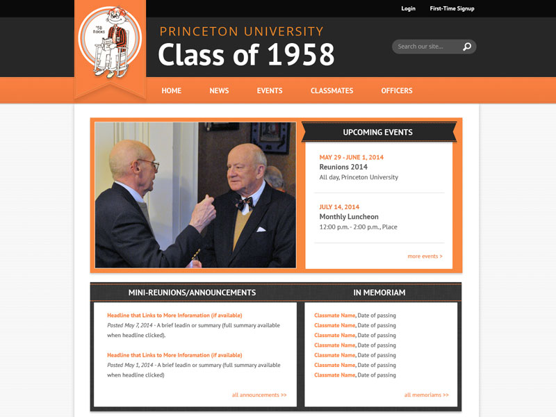 Princeton University Class of 1958