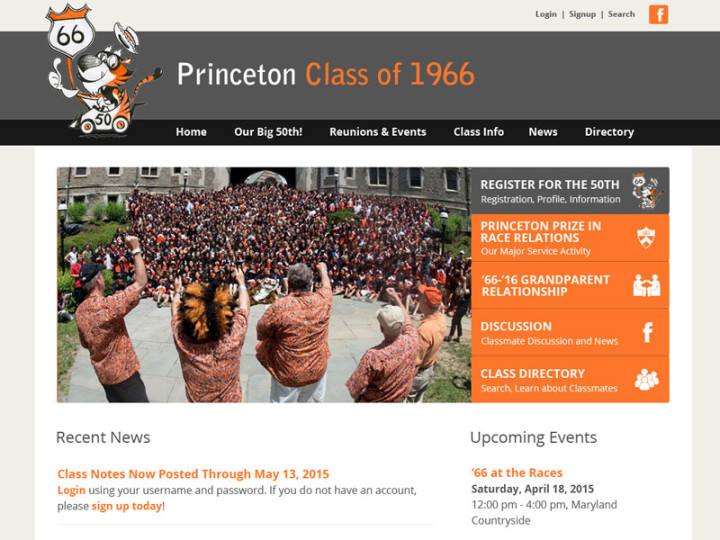 Princeton University Class of 1966