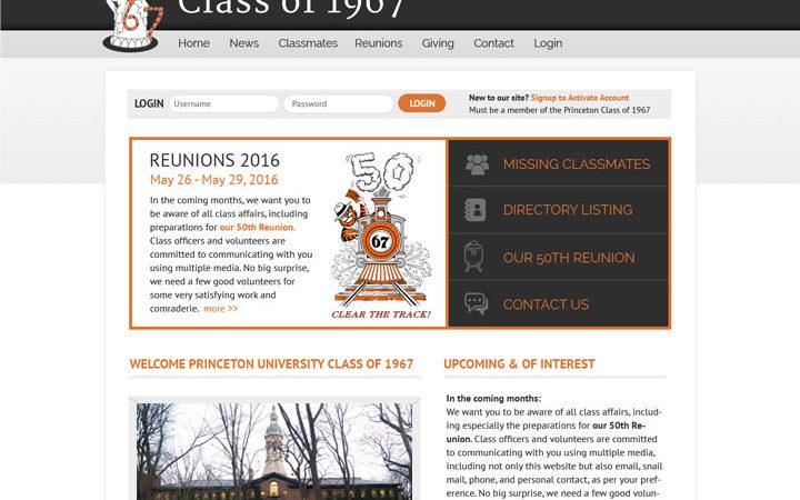 Princeton Class of 1967