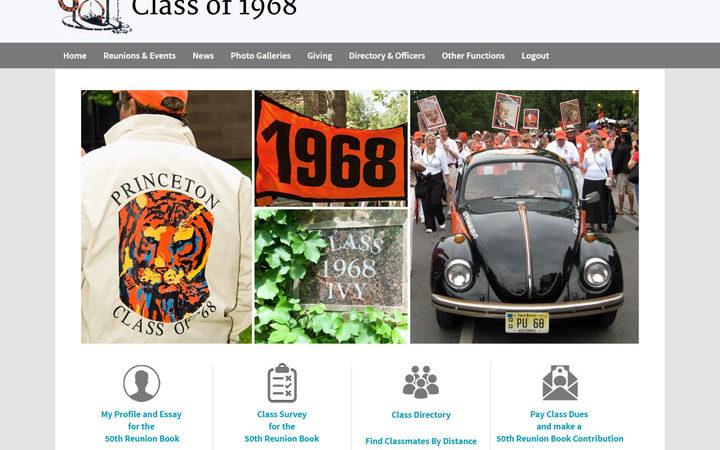 Princeton Class of 1968